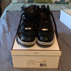 *WORN 2x's* COACH SNEAKERS